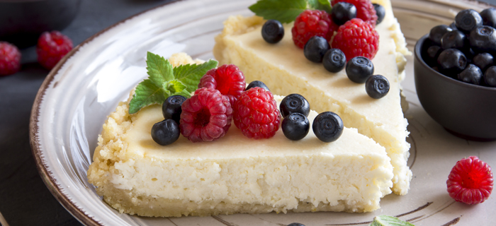 Recept: cheesecake